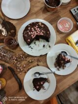 Imagen de pastel Sacher vegano sin gluten sin azúcar
