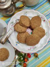 Imagen de galletas anzac de avena y coco saludables sin azúcar