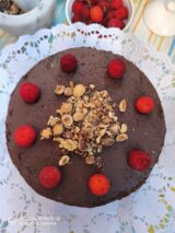 imagen de pastel de chocolate