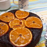 Pastel de naranja sin azúcar