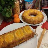 Pastel de naranja sin gluten
